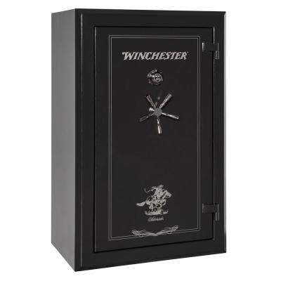 Silverado 33 cu. ft. 30-Gun 2 Hour Fire Resistant U.L. Mechanical Lock Gun Safe Black
