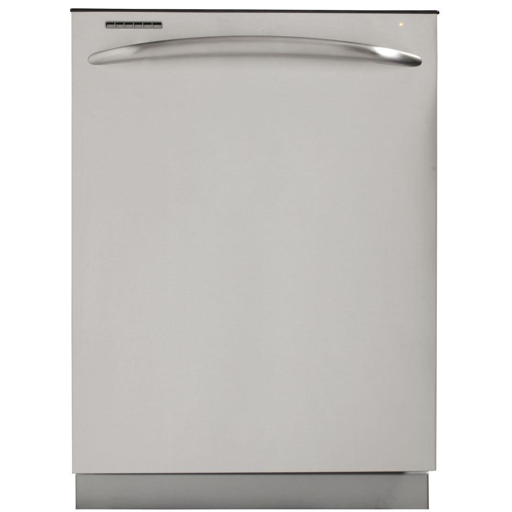 GE Profile Top Control Dishwasher in Stainless Steel with Stainless Steel Tub
