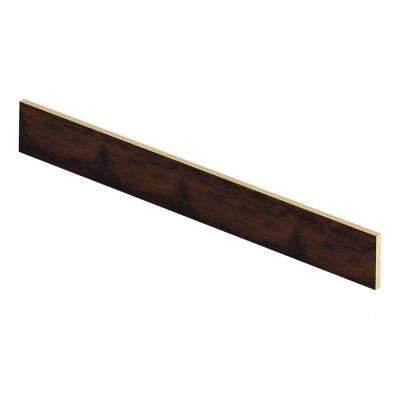 Stanhope Hickory 1/2 in. Thick x 7-3/8 in. Wide x 47 in. Length Laminate Riser