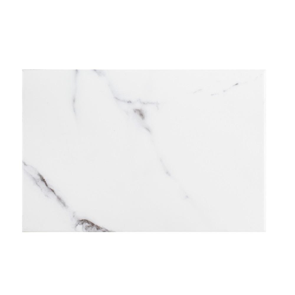 Jeffrey Court Carrara Inkjet 8 in. x 12 in. Matte Ceramic Wall Tile (0.666 sq. ft.)