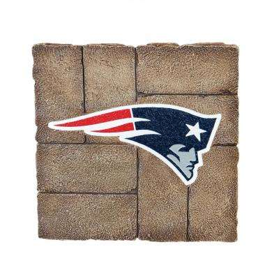 New England Patriots 12 in. x 12 in. Decorative Garden Stepping Stone