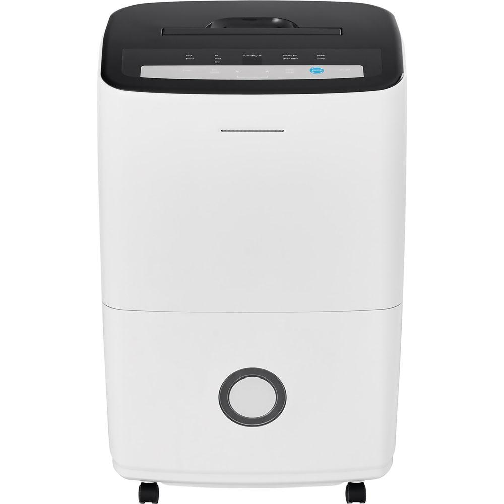 Frigidaire 70 Pt. Dehumidifier with Built-in Pump in White
