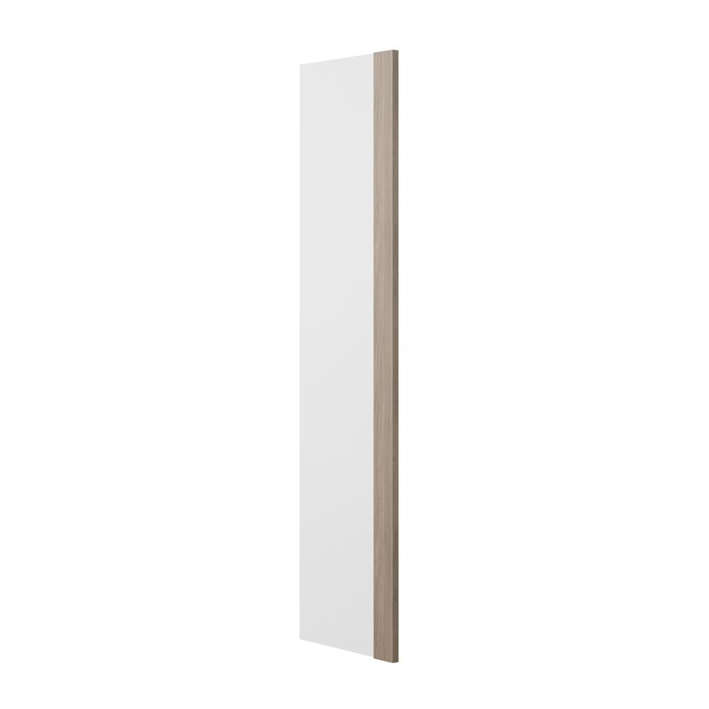 1.5x96x24.5 in. Refrigerator End Panel in Driftwood