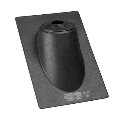 13 in. x 1.66 ft. Plastic Hi Rise Pipe Flashing