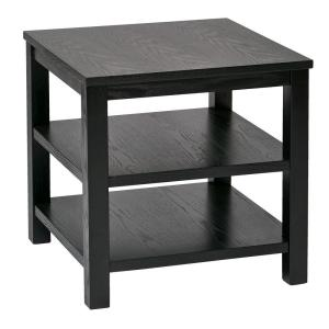 Ave Six Merge Black End Table by Ave Six