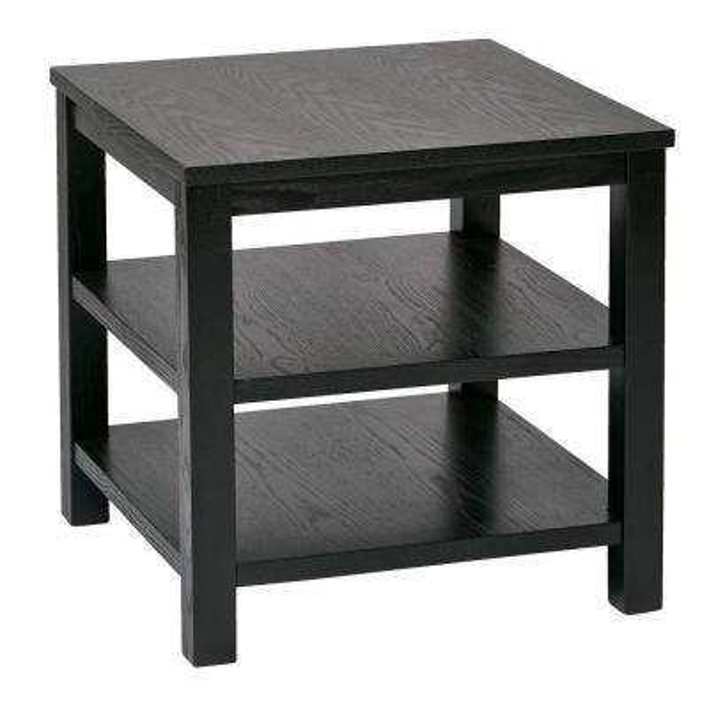 Merge Black End Table