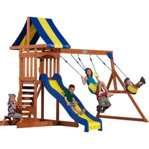 Backyard Discovery Providence All Cedar Playset 40112com The Home