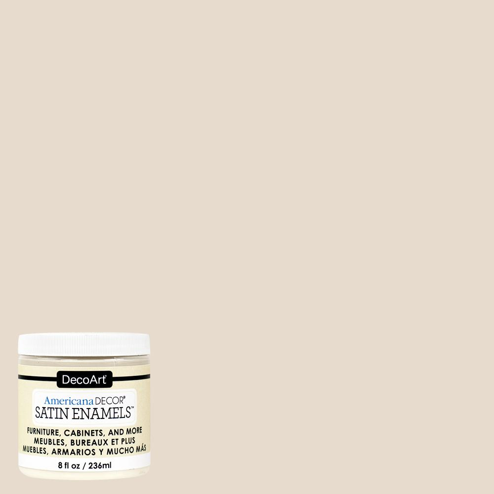 8 oz. Neutral Beige Satin Enamel Paint