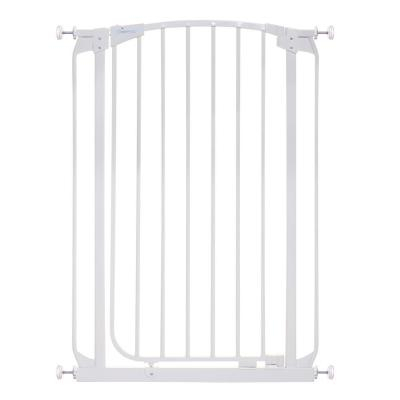 Chelsea 39.4 in. H Extra Tall Auto-Close Security Gate in White