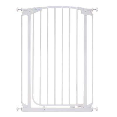 Chelsea 40 in. H Extra Tall Auto-Close Security Gate in White