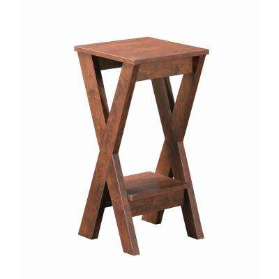Sheck Walnut Small Indoor Plant Stand
