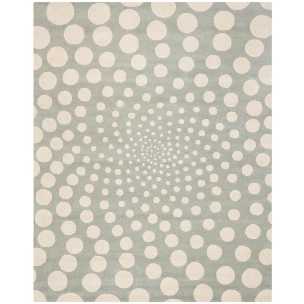 Safavieh Soho Grey/Ivory 7 ft. 6 in. x 9 ft. 6 in. Area Rug