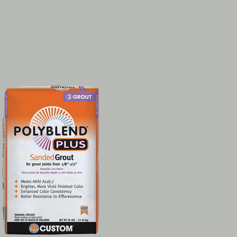 Polyblend Plus #546 Cape Gray 25 lb. Sanded Grout