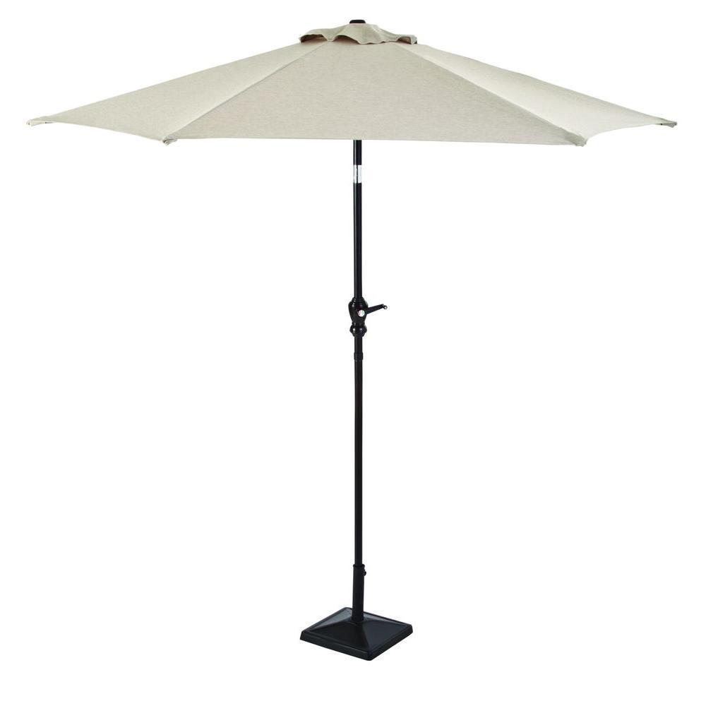 Hampton Bay Barnsley 8 ft. Patio Umbrella-DISCONTINUED