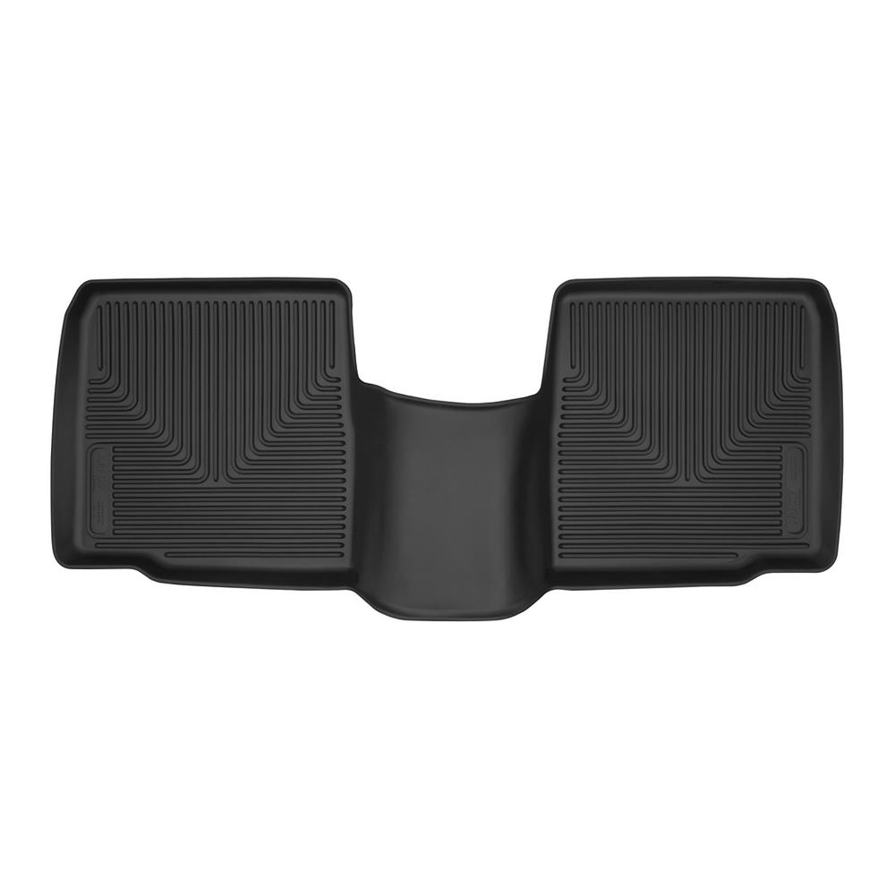 Husky Liners 53431 X-act Contour Series Black 2nd Seat Floor Liner
