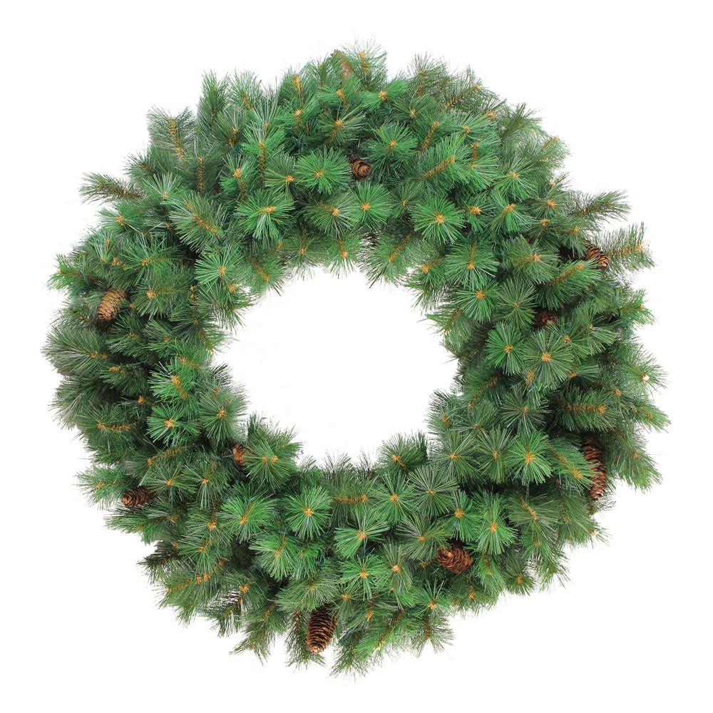 36 in. Unlit Royal Oregon Pine Artificial Christmas Wreath