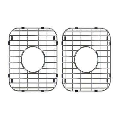 13 in. x 11 in. Stainless Steel Kitchen Sink Bottom Grid (2-Pack)
