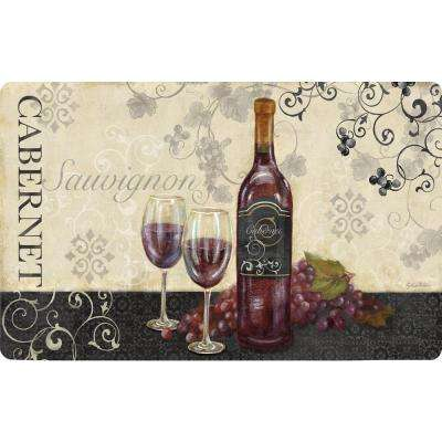 Cushy Comfort 18 in. x 30 in. Anti-Fatigue Kitchen Mat