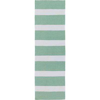 Striped - Runner - Blue - Outdoor Rugs - Rugs - The Home Depot