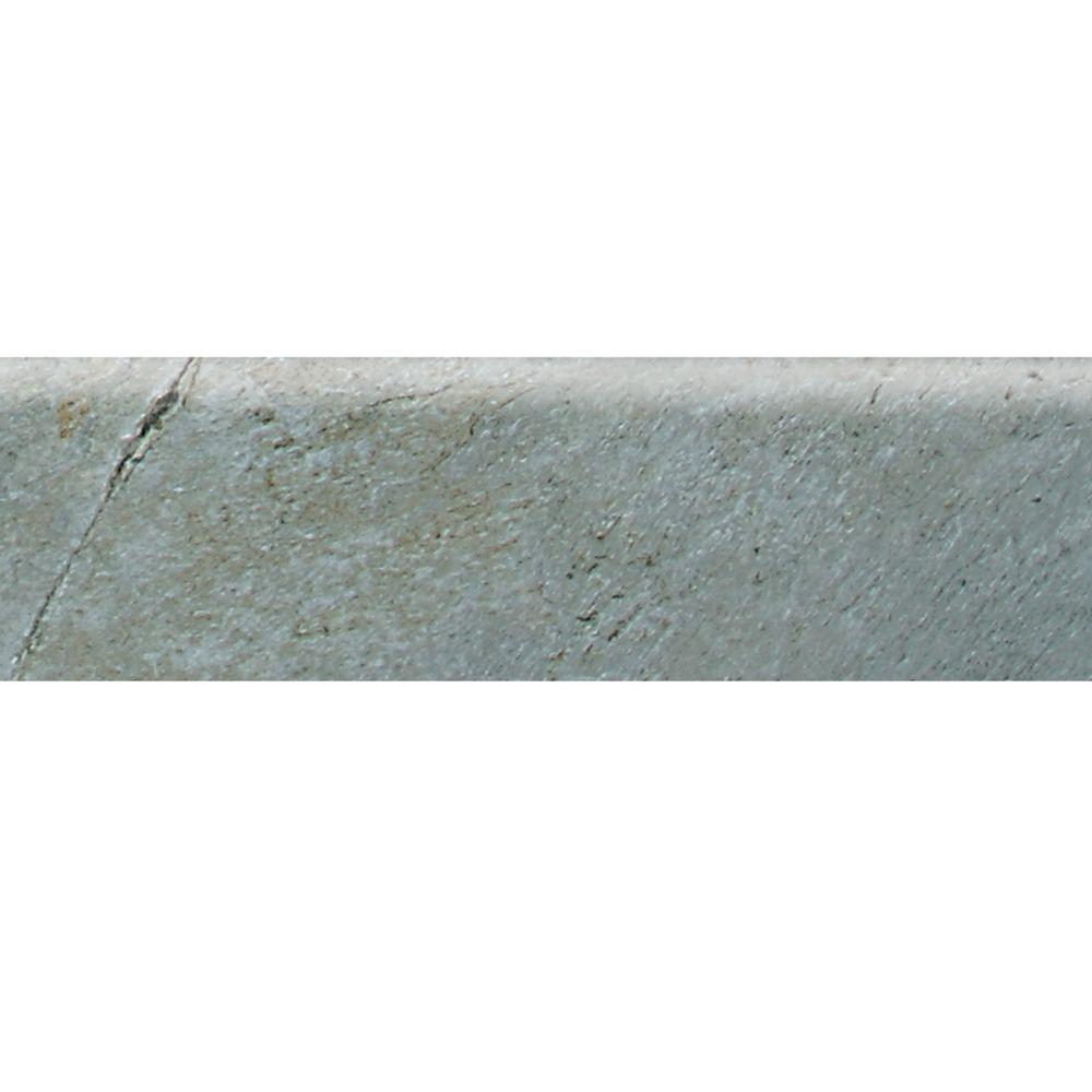 Franciscan Slate Coastal Azul 3 in. x 12 in. Glazed Porcelain