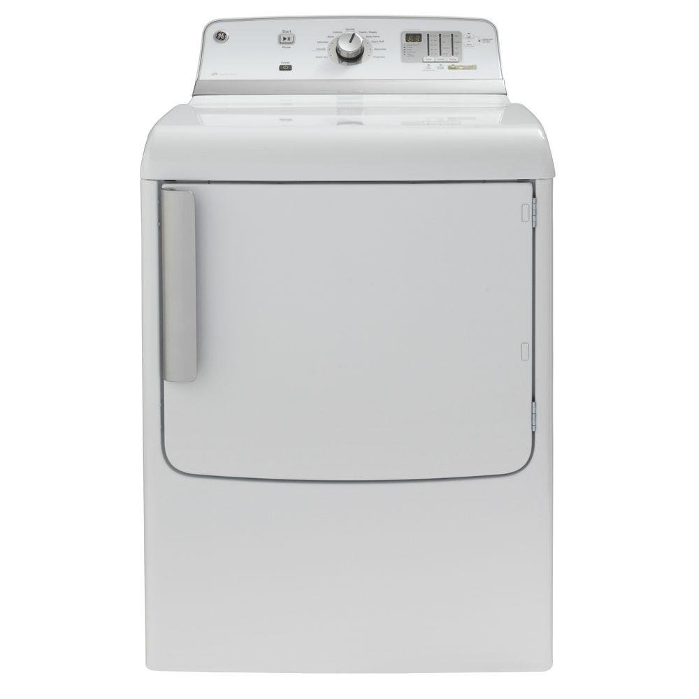GE 7.8 cu. ft. Electric Dryer in White