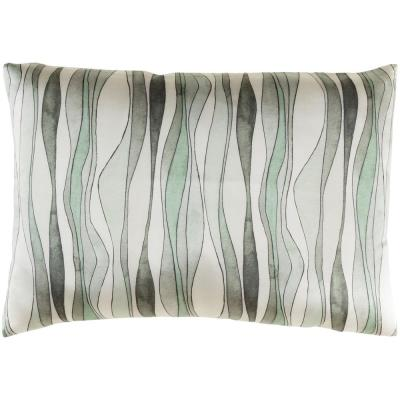 Brydges Mt Graphic Polyester 19 in. x 19 in. Throw Pillow