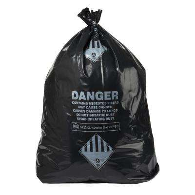 33 Gal. Asbestos 4 Mil Bag Box (50-Count)