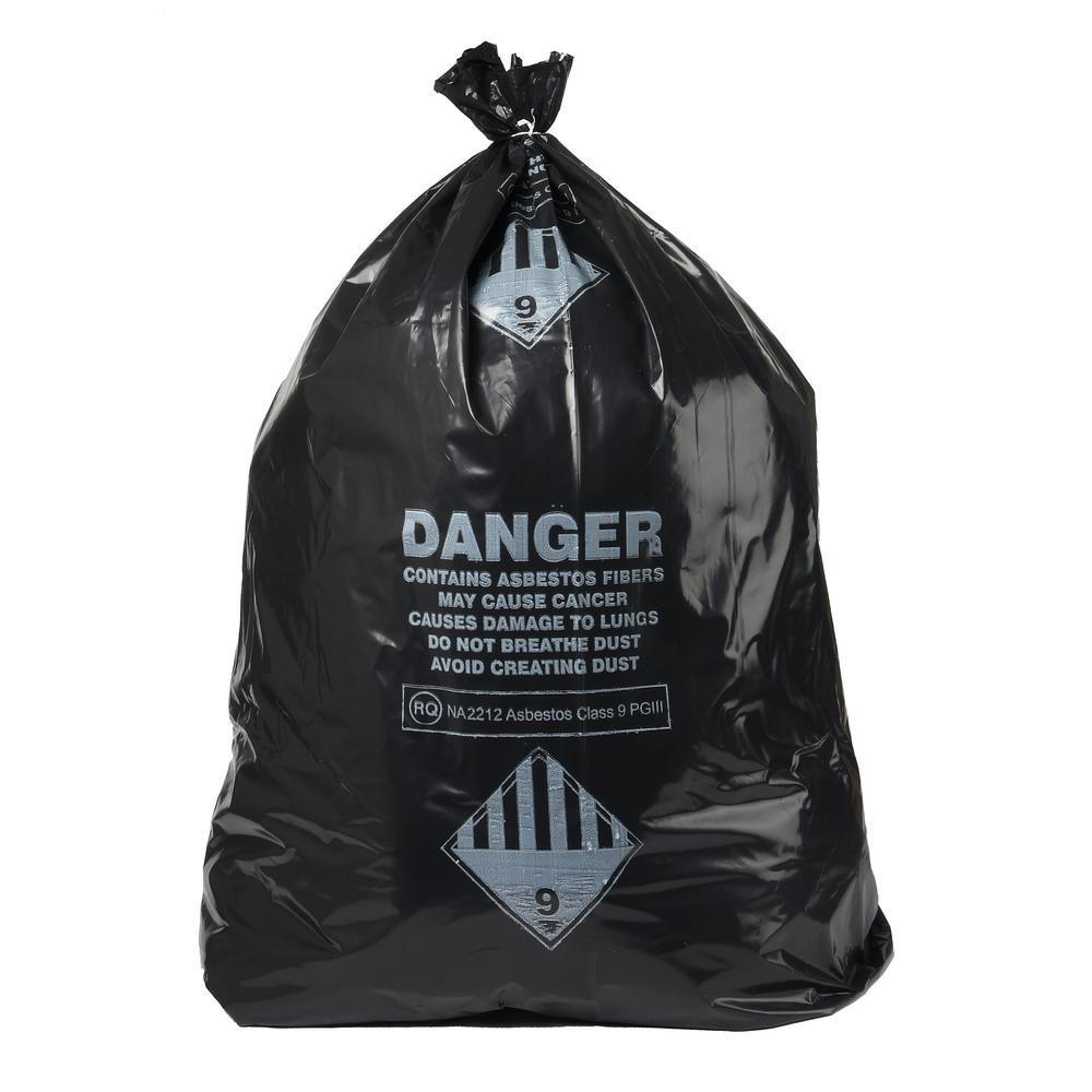 33 Gal. Asbestos 4 Mil Bag Box (50-Count)