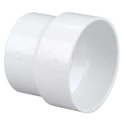 3 in. x 4 in. PVC DWV Hub x Sewer and Drain Soil Pipe Adapter