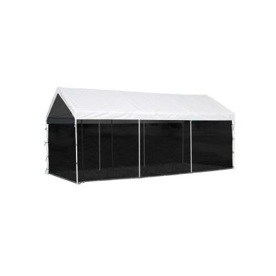 10 ft. W x 20 ft. D Max AP Screen Enclosure Kit for Screen House with Zippered Screen (Canopy and Frame Not Included)