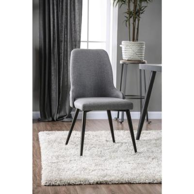 Brinmore Gray Upholstered Side Chairs (Set of 2)