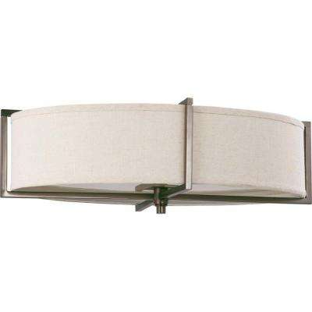 6-Light Hazel Bronze Incandescent Ceiling Flushmount