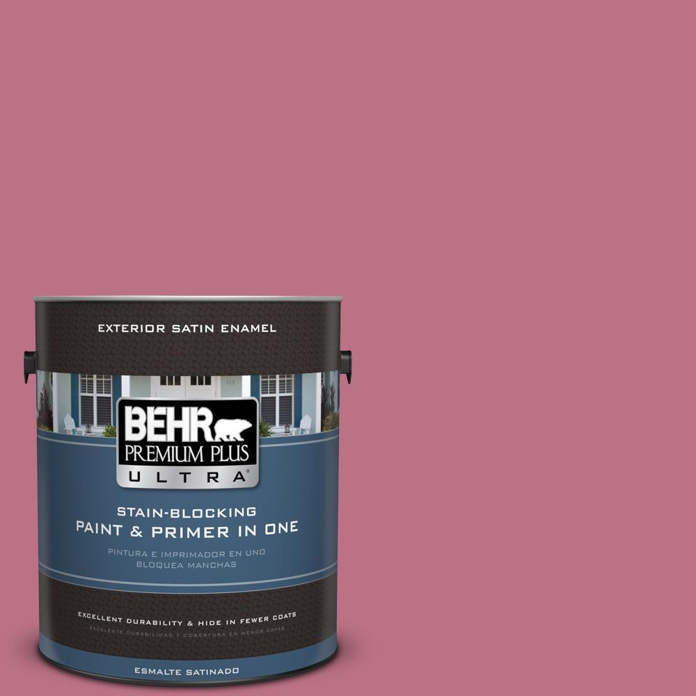 BEHR Premium Plus Ultra 1 gal. #PPU26-09 Graycloth Satin Enamel ...