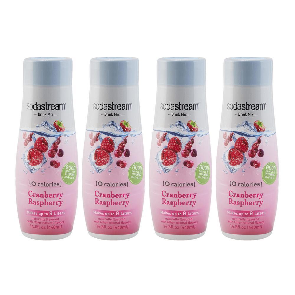 440 ml Cranberry Raspberry Zero Calorie Drink Mix (Case of 4)