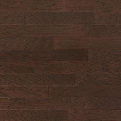 Hickory French Roast Engineered Click Hardwood Flooring - 5 in. x 7 in. Take Home Sample​