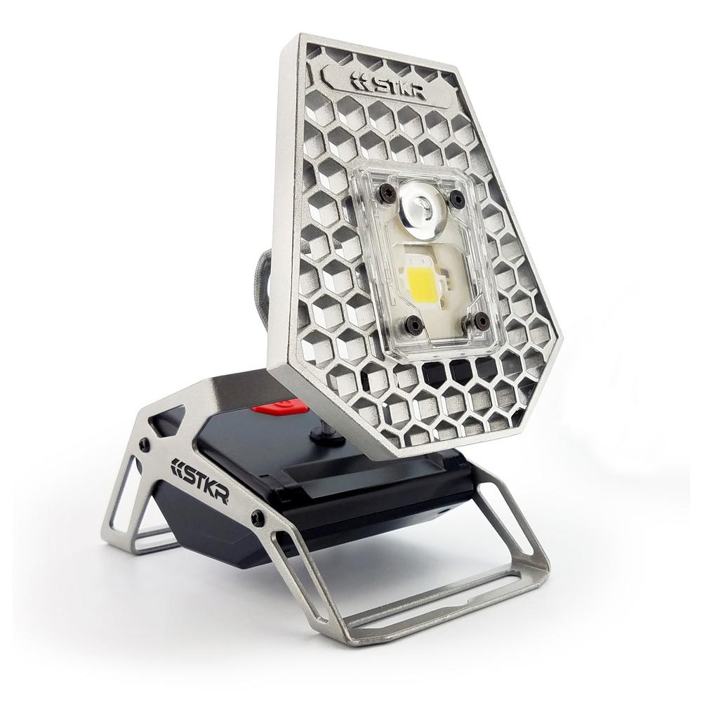 STKR STKR Mobile Task Light - 1200 Lumens Portable/Rechargeable Light