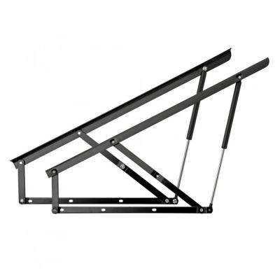 Gas Spring-Assisted 110 lbs. Storage Single Bed Side/End Lift Mechanism