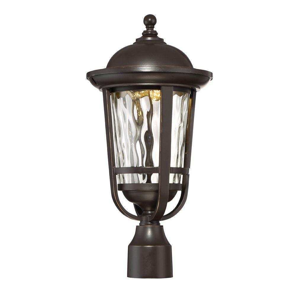 designers fountain westbrooke aged bronze patina outdoor led post lantern led34436 abp the. Black Bedroom Furniture Sets. Home Design Ideas