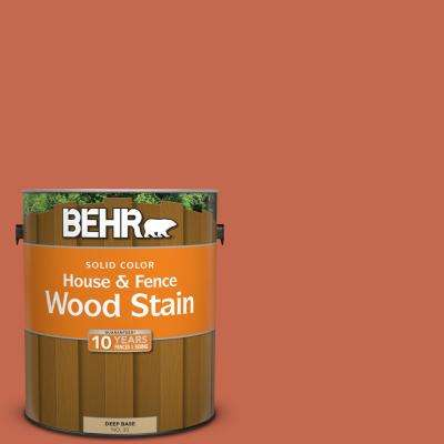 1 gal. #T16-14 Raw Copper Solid Color House and Fence Exterior Wood Stain