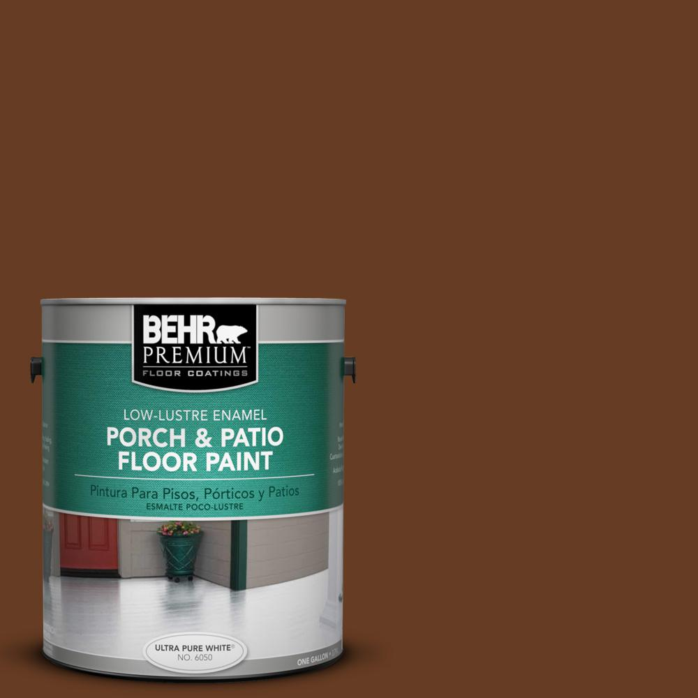 #SC 110 Chestnut Low Lustre Porch And Patio