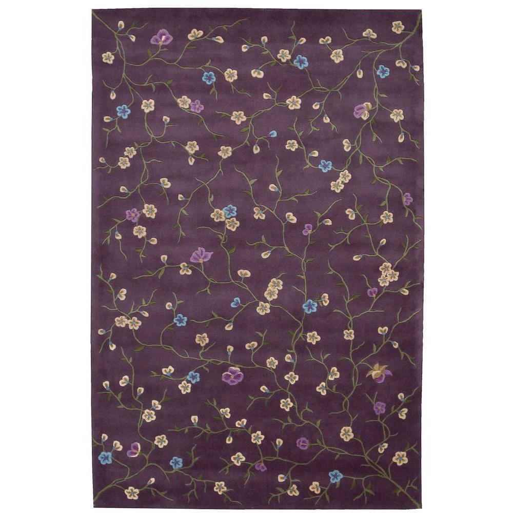 Nourison Julian Lavender (Purple) 4 ft. x 6 ft. Area Rug