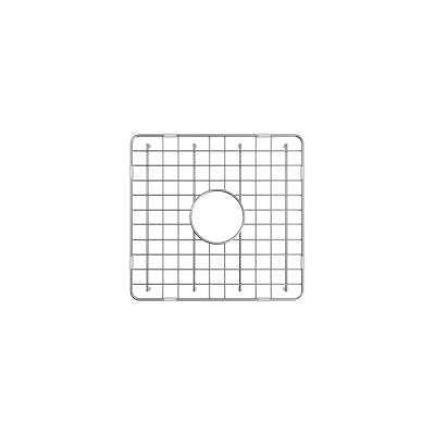 16.75 in. Grid for Large Side Fireclay Farmhouse Sink in Stainless Steel