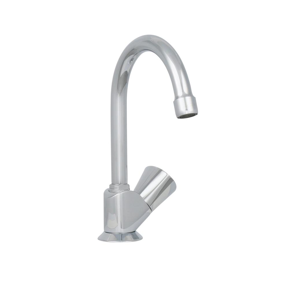 GROHE Classic Pillar Tap Single-Handle Bar Faucet in StarLight ...