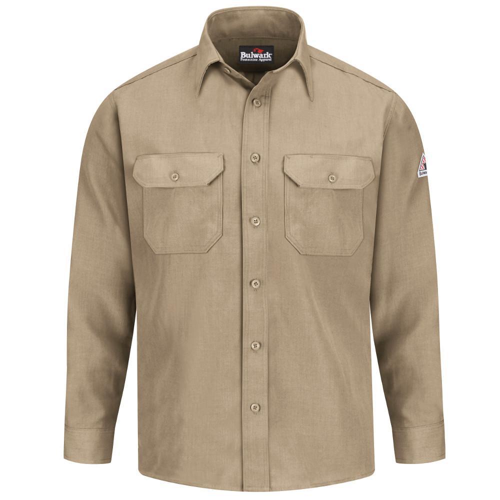 Nomex IIIA Men's Large (Tall) Tan Uniform Shirt