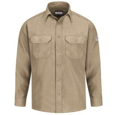 Nomex IIIA Men's Medium (Tall) Tan Uniform Shirt