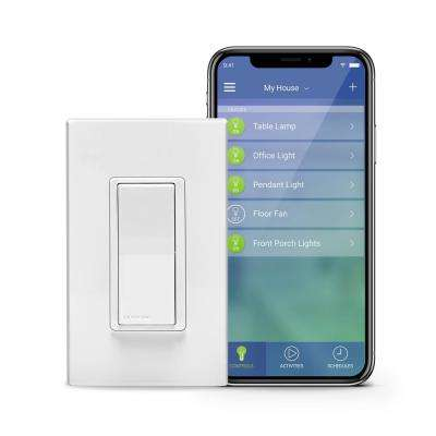 Decora Smart Wi-Fi 15A LED/ Switch, No Hub Required, Works with Alexa, Google Assistant and Nest