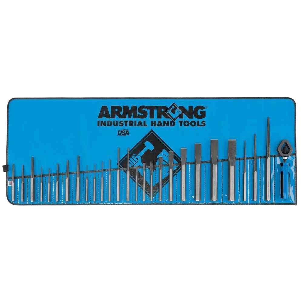 Armstrong Punch and Chisel Set (27-Piece)