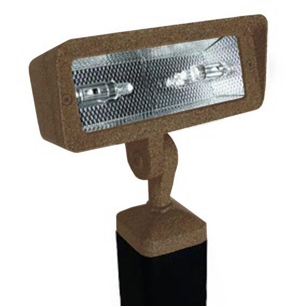 Filament Design Centennial 1-Light Outdoor LED Acid Rust Directional Light