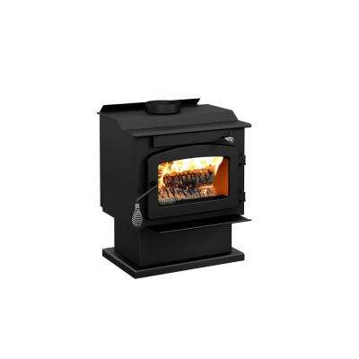 Pyropak 22 in. Wood Stove 1000 sq. ft. EPA Certified on Pedestal with Damper