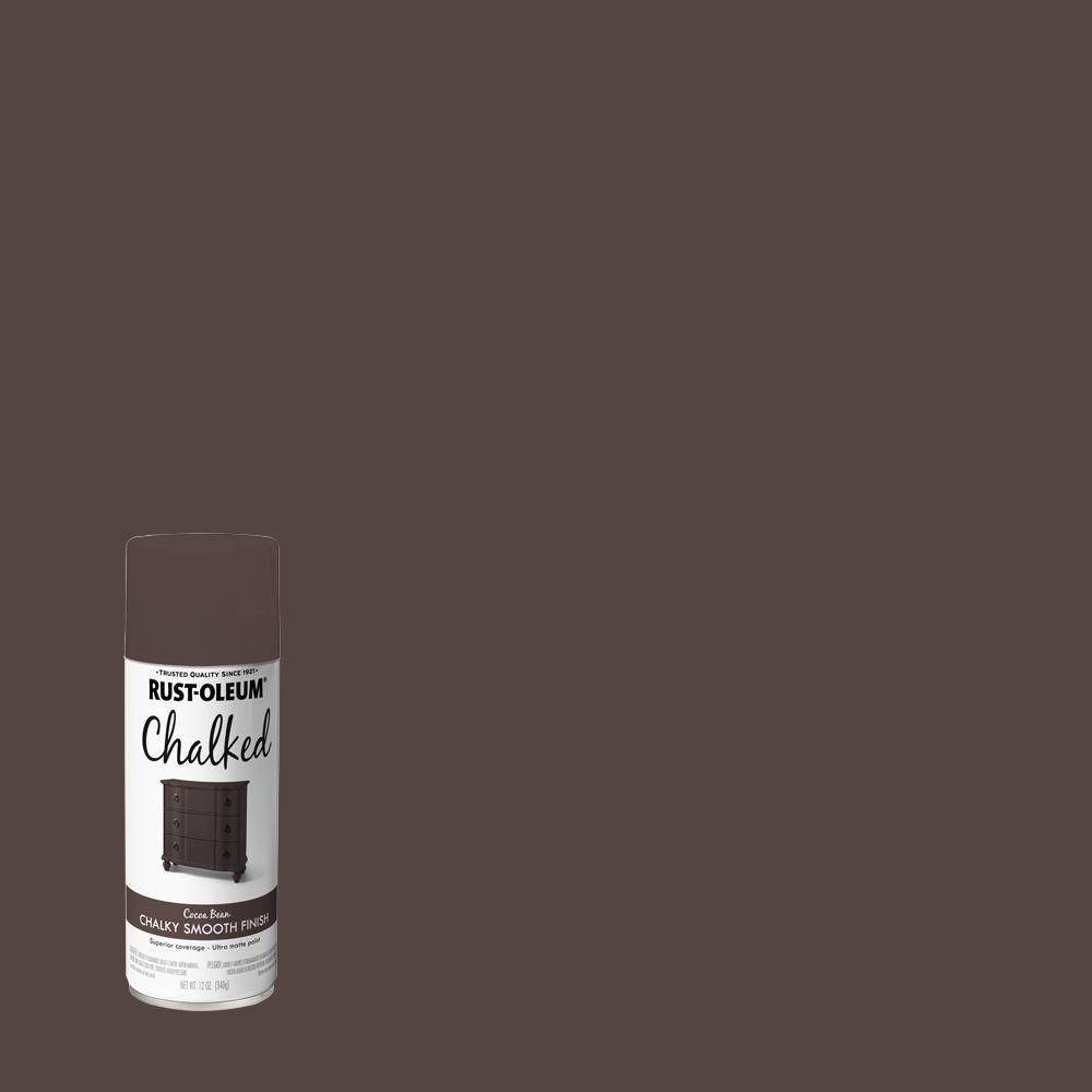 Rust-Oleum 12 oz. Chalked Cocoa Bean Ultra Matte Spray Paint